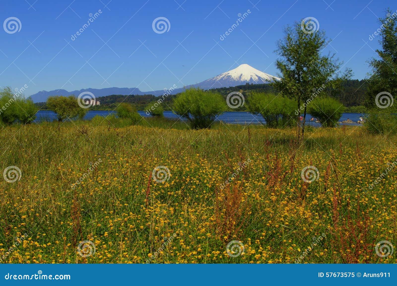 Wulkan Villarica Chile