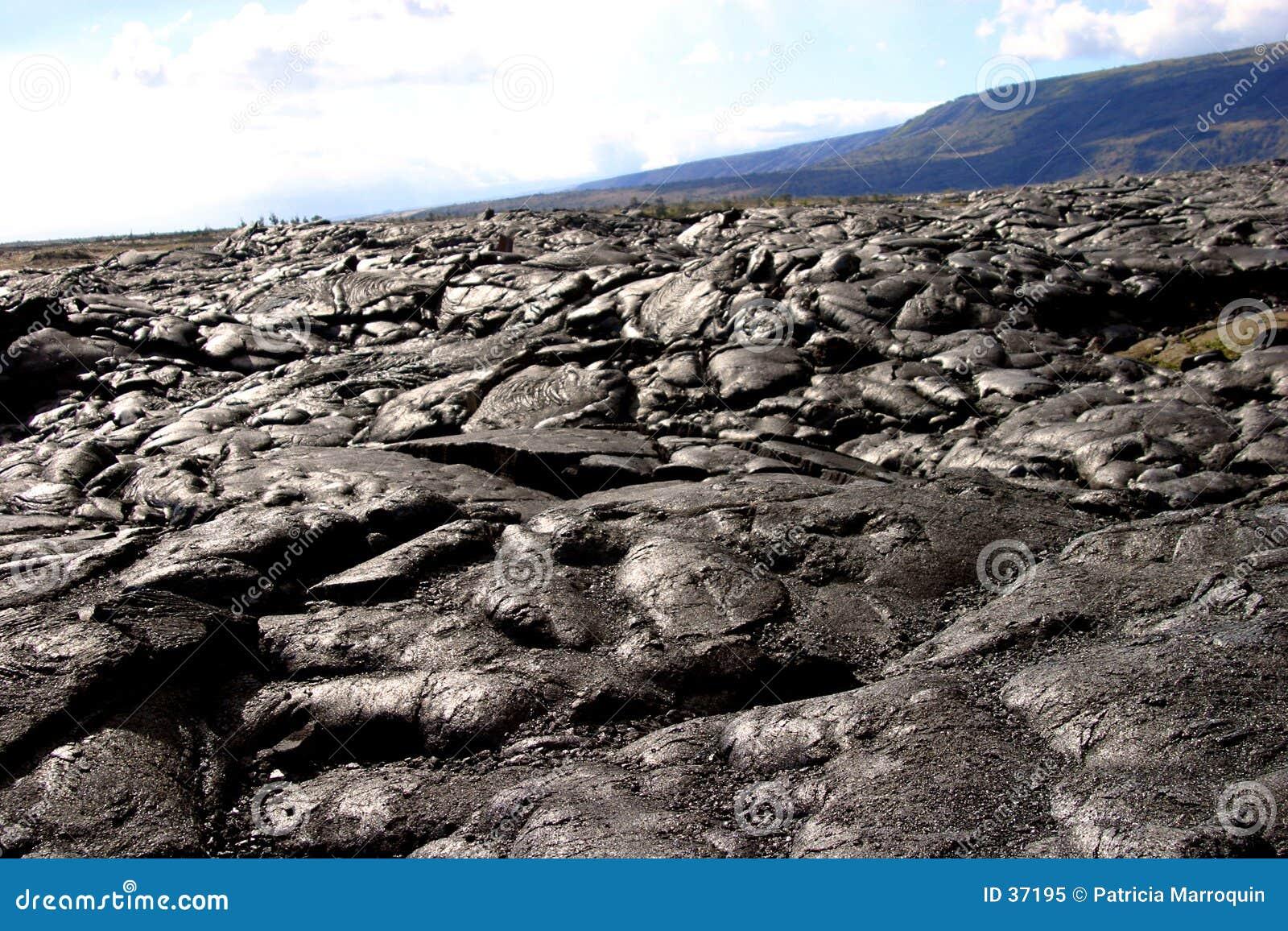 Wulkaniczna krajobrazu