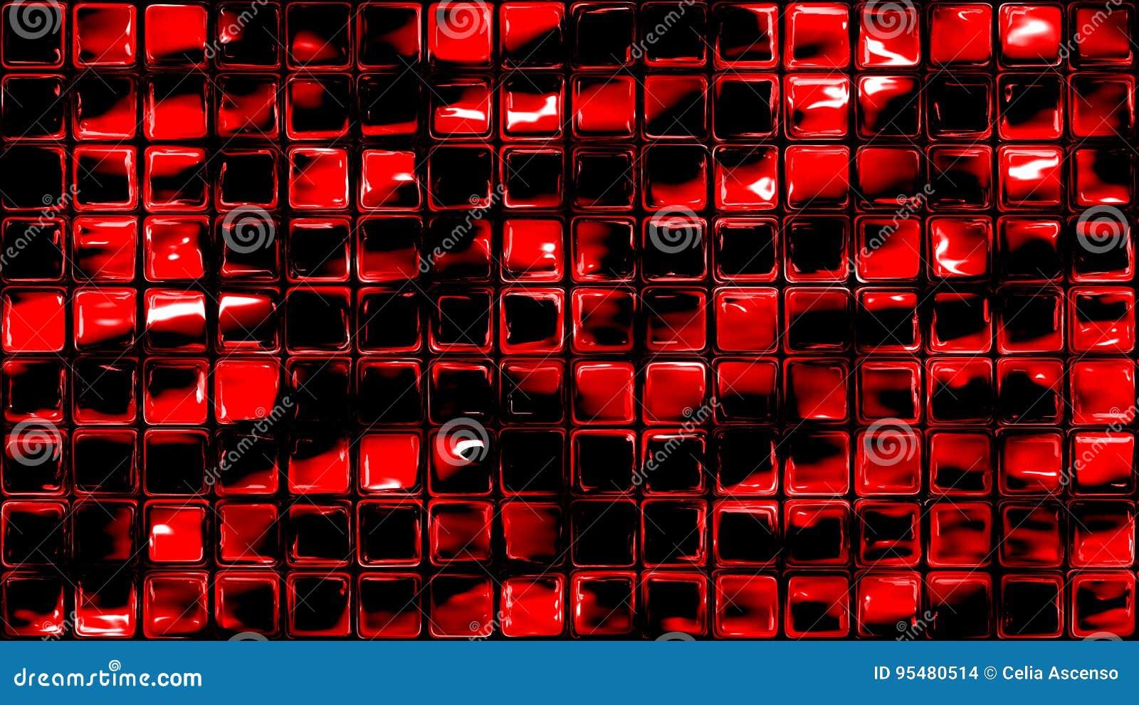 Wulkanu szkło tafluje geometrycznego tło