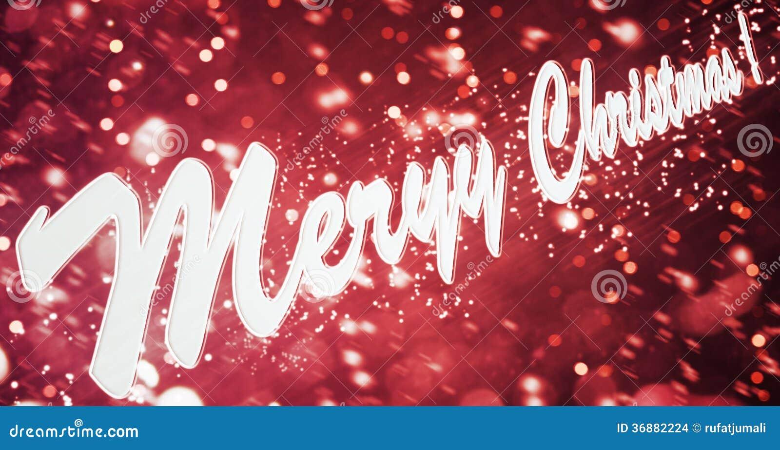 Wunsch Jeder Guten Rutsch Ins Neue Jahr Und Frohe Weihnachten Stock ...