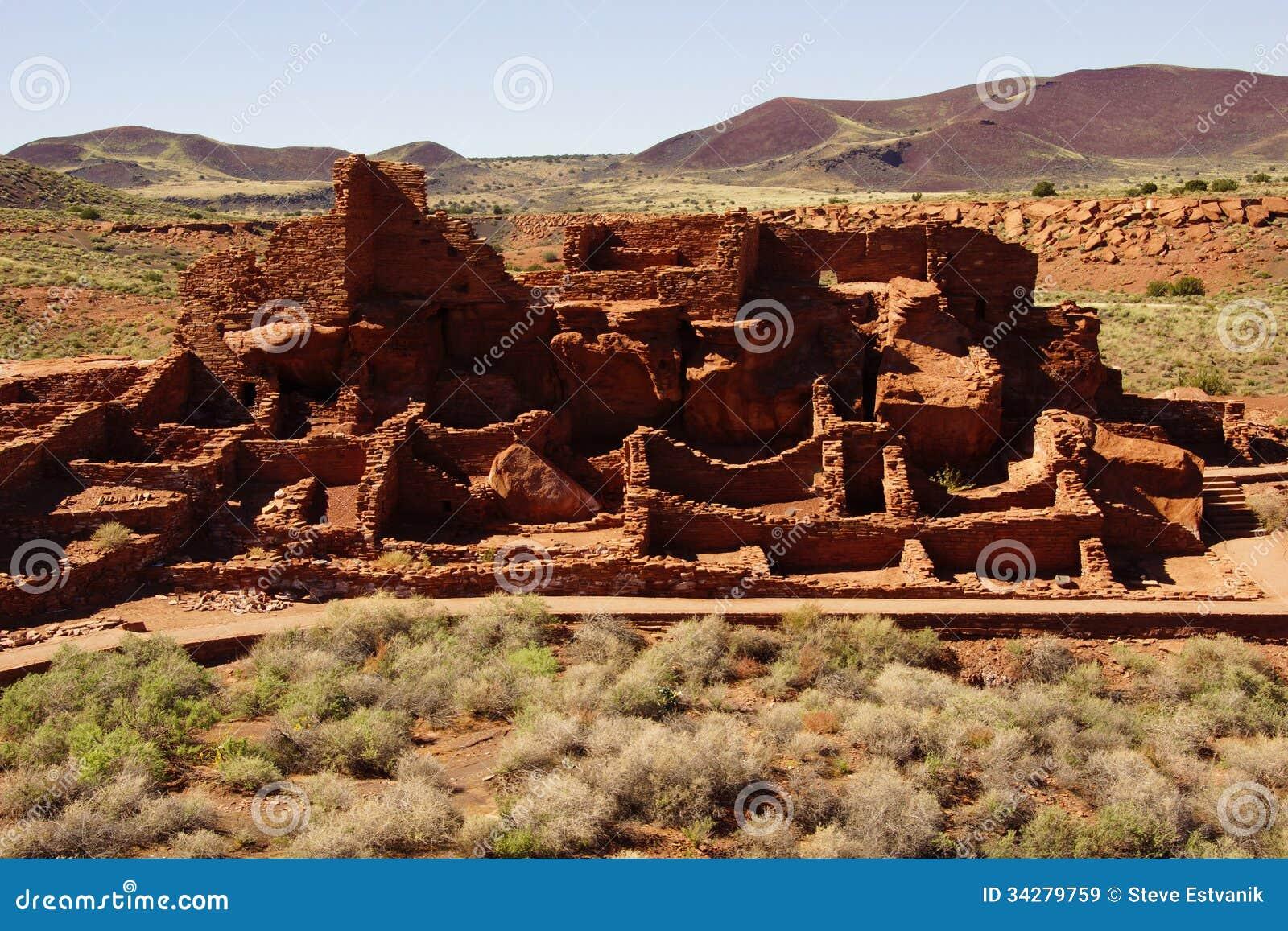 Wupatki Pueblo Ruins Royalty Free Stock Images Image 34279759