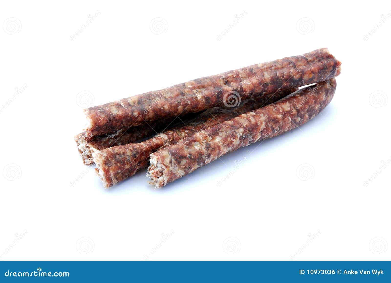 Wurst seco surafricano