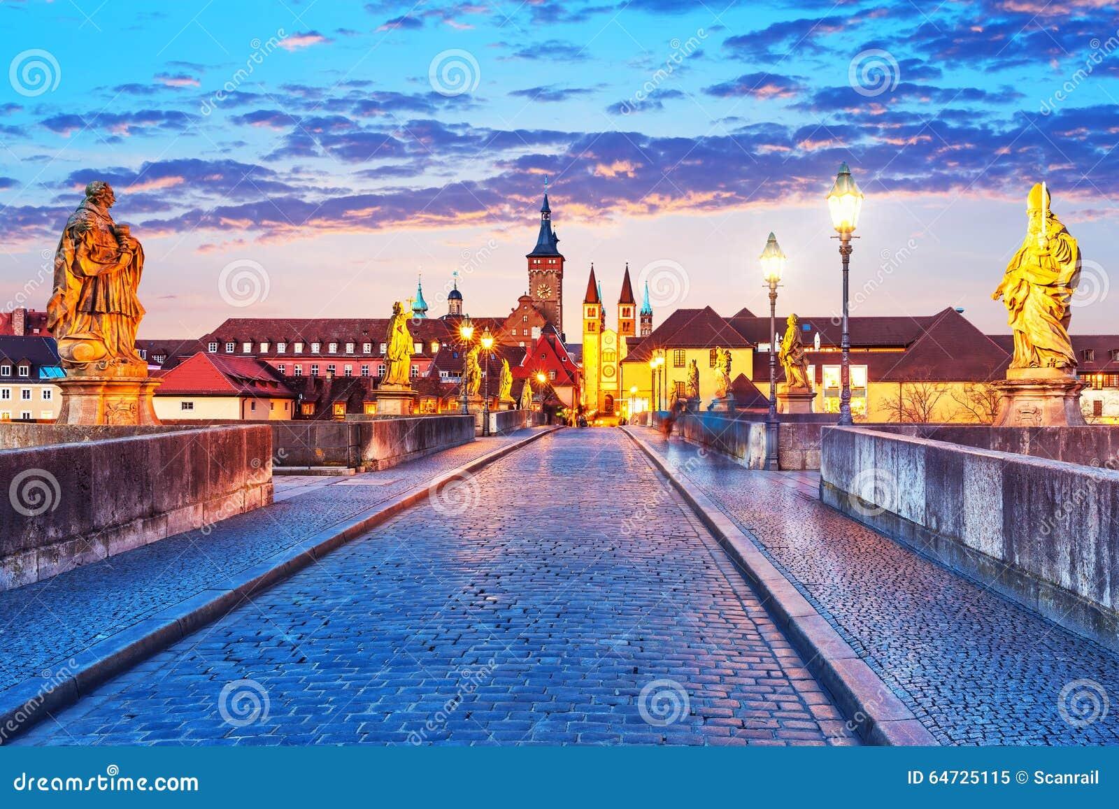 Wurzburg, Baviera, Germania