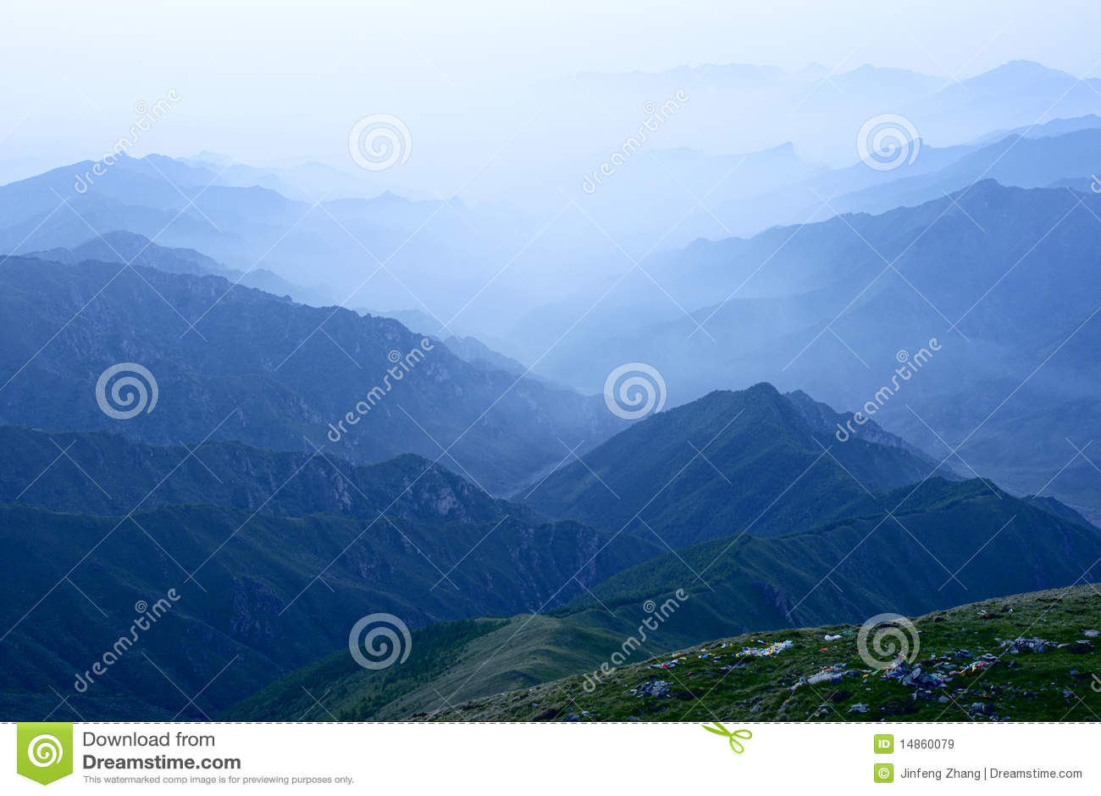 Wutai Mountain scenery