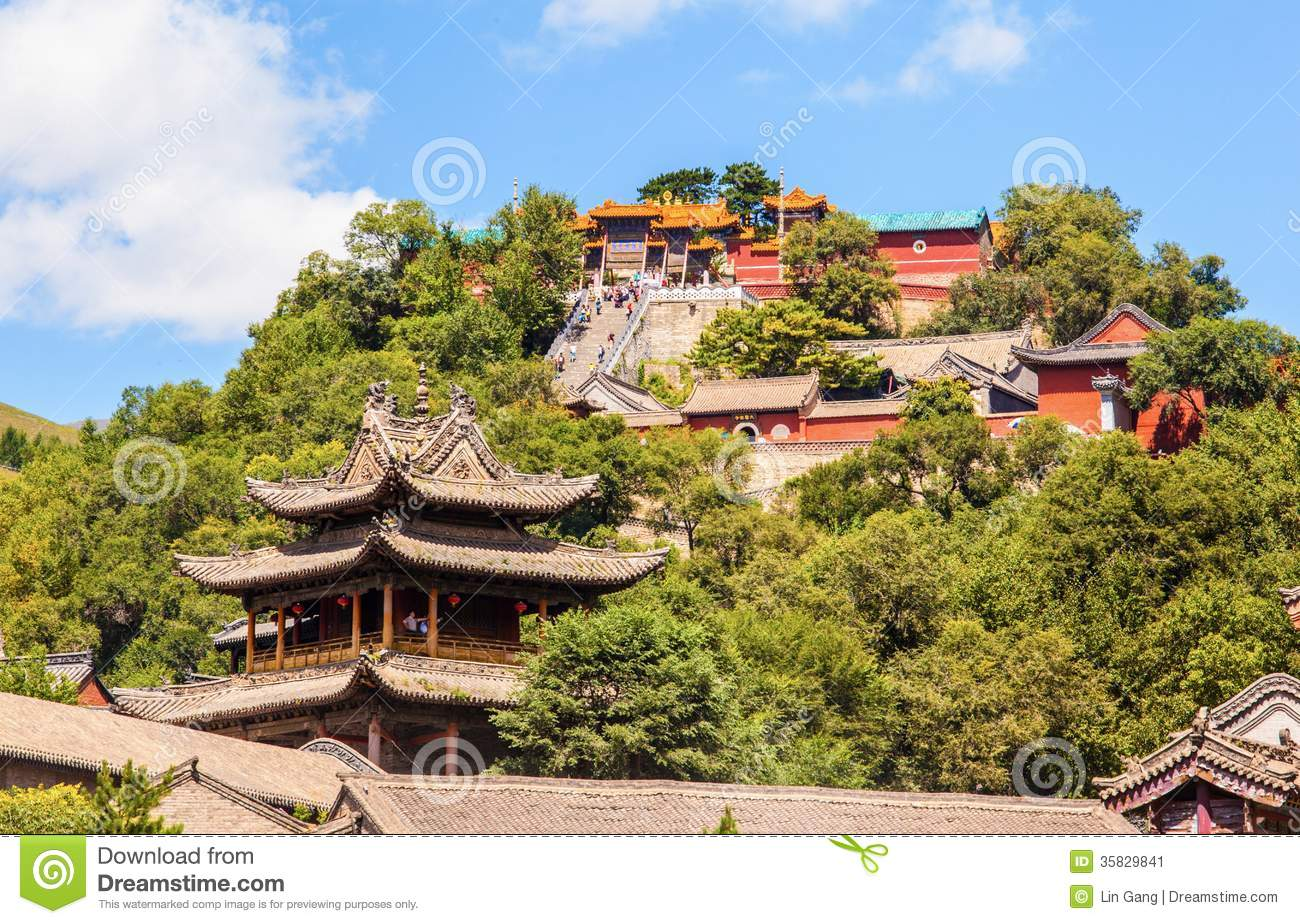 Wutaishan China  city photo : The Buddha top temple is one of Wutaishan Mount Wutai Temples. In the ...