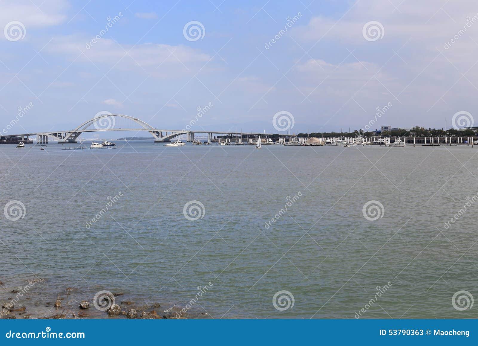 Wuyuanbay most i jachtu molo