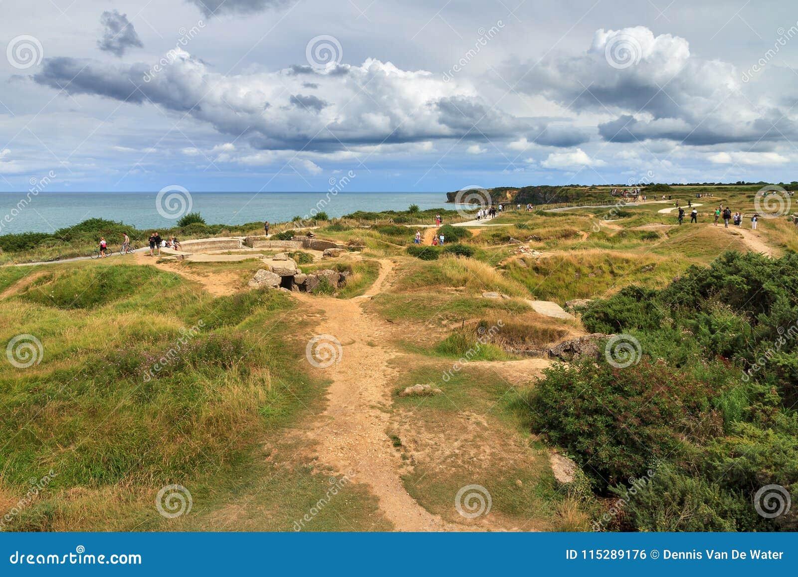 WW2 дюны Нормандия