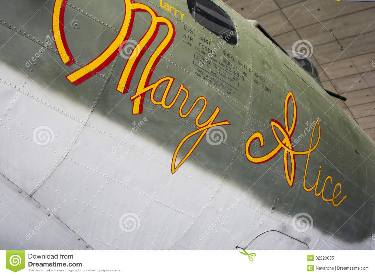 WW2 B-17G Flying Fortress Mary Alice