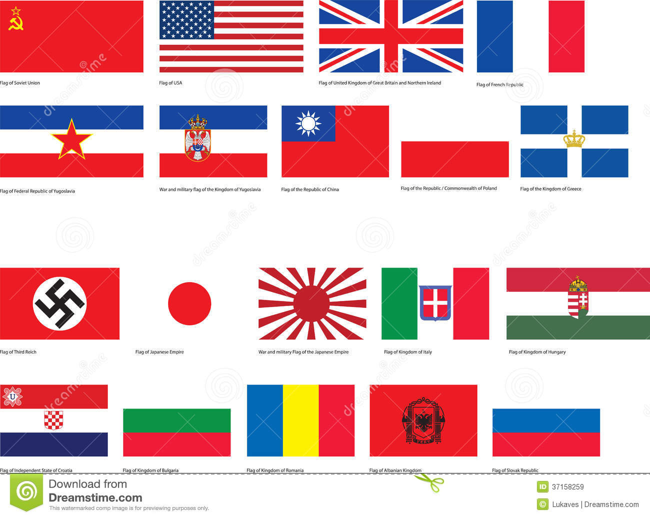 World war 2 lessons tes teach ww2 flags royalty free stock images image 37158259 gumiabroncs Gallery