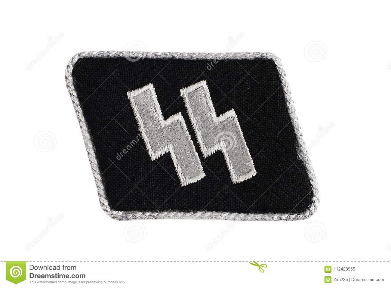 Ww2 German Waffen Ss Military Insignia Stock Image Image Of