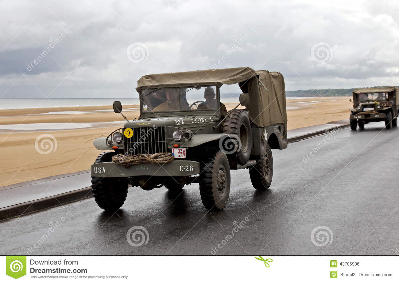 Used Cars Omaha >> WW2 US Army Dodge Trucks Editorial Photo - Image: 43705906