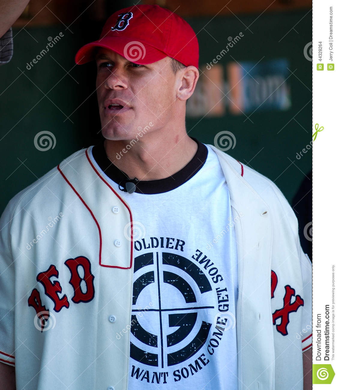 wwe champion john cena. editorial stock image. image of uniform