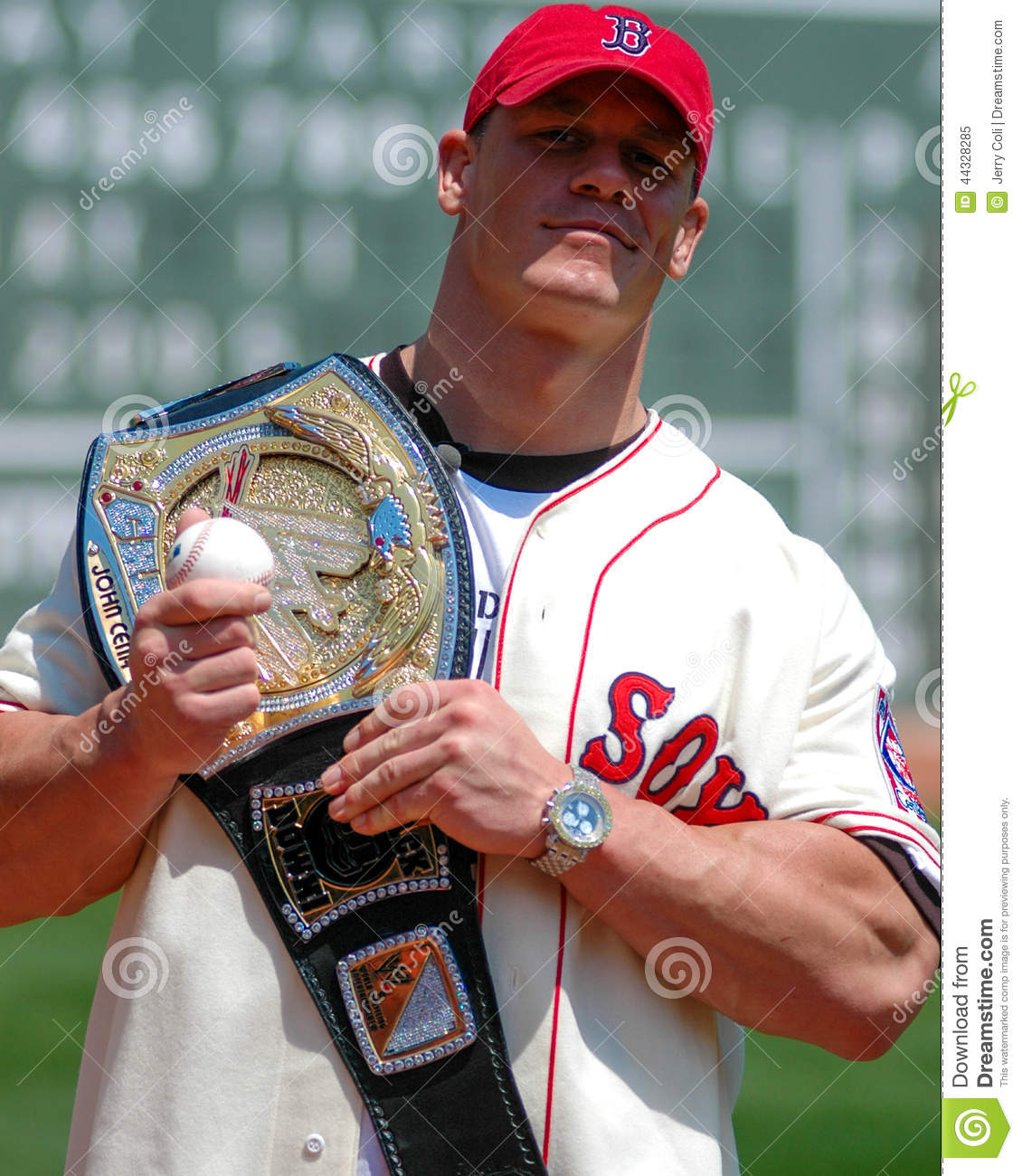wwe champion john cena. editorial image. image of wrestling - 44328285
