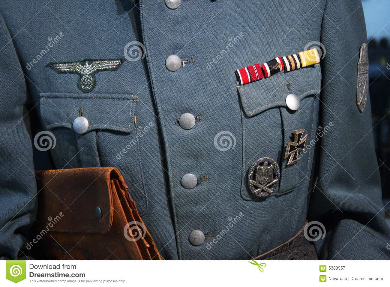 WWII German Military Uniform Stock Image - Image of army