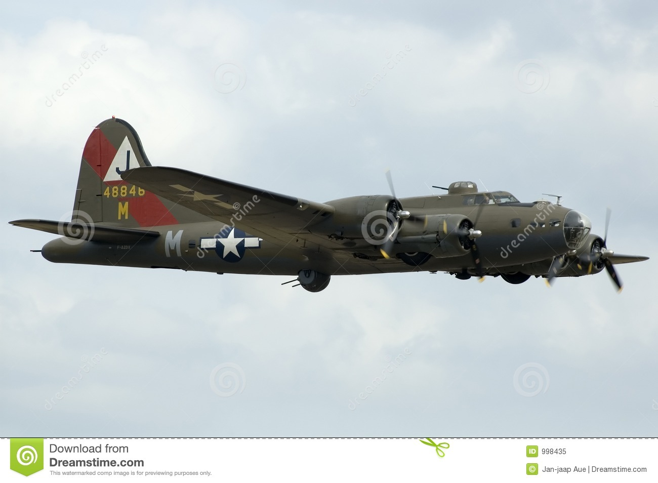 Wwii Planes At Duxford Airshow Royalty Free Stock Photo