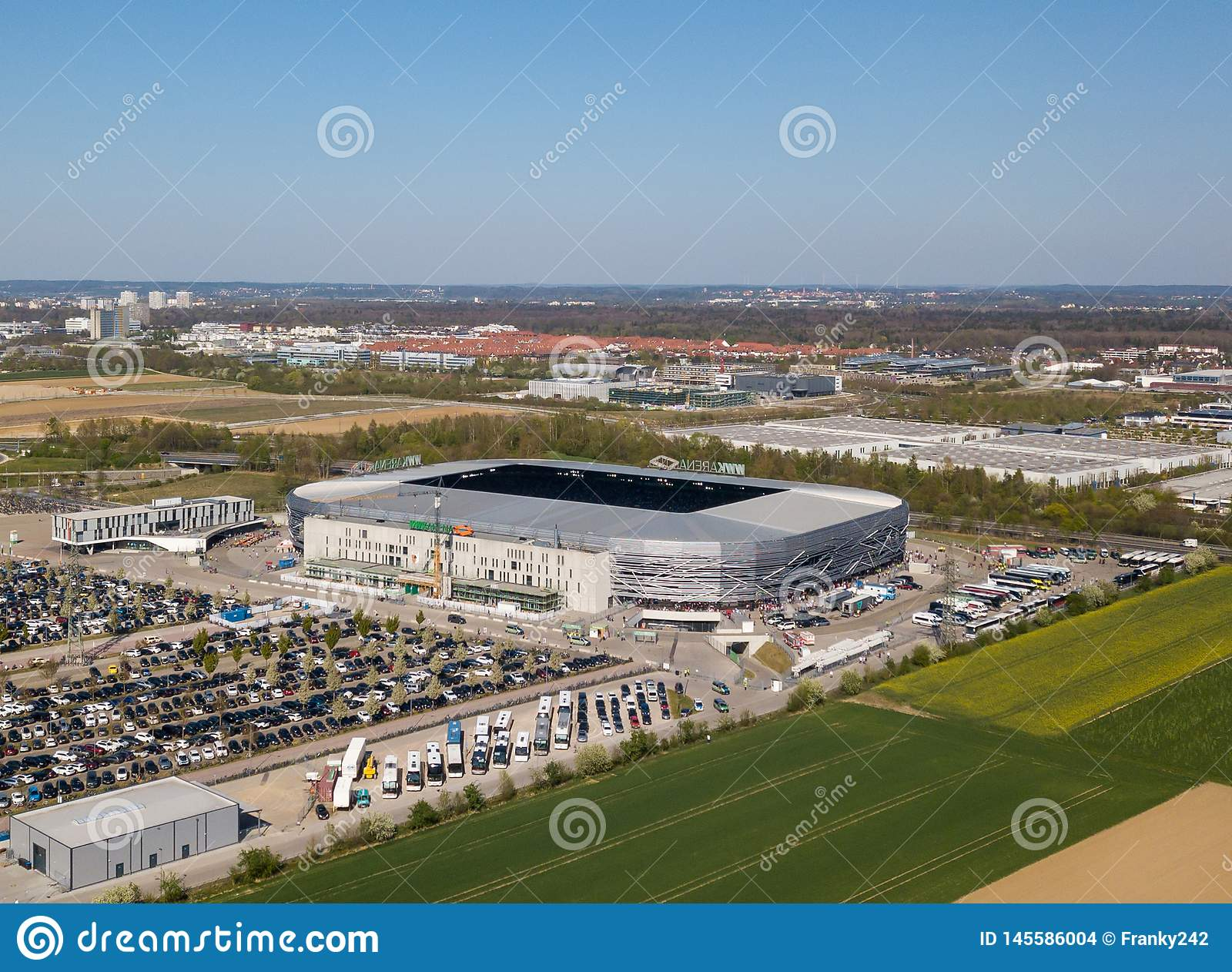 WWK arena - the official football stadium of FC Augsburg