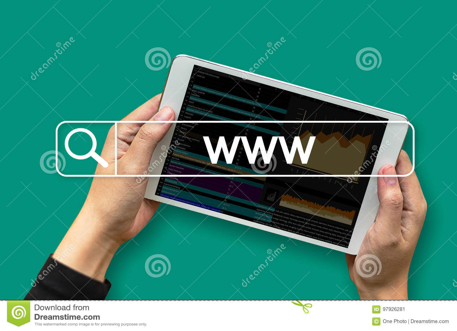 WWW Website Online Internet Web Page Computer Browser ...