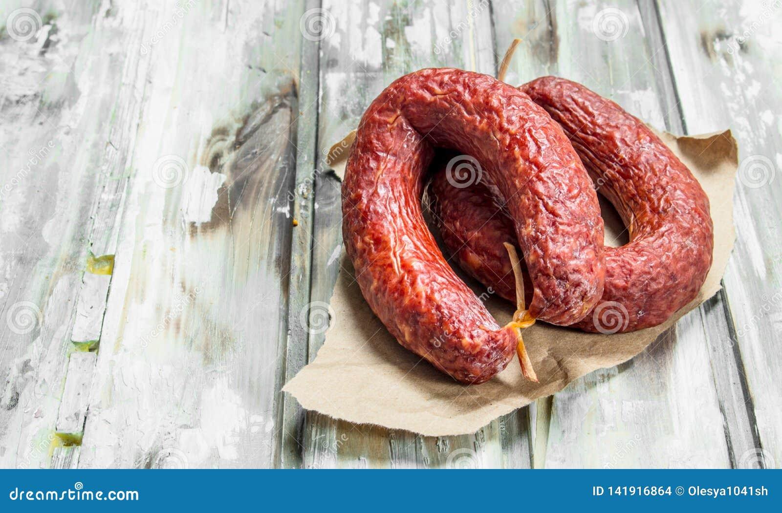 Wyśmienicie uwędzony salami