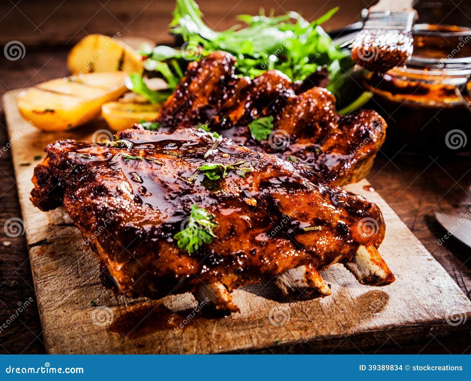 Wyśmienicie barbecued ziobro