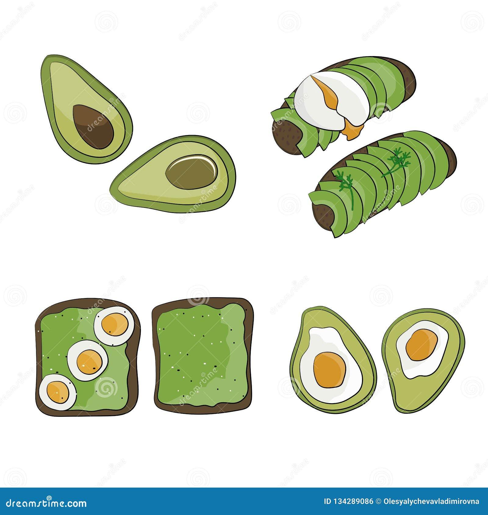 Wyśmienicie organicznie śniadanie oasted chleb z avocado i jajkiem