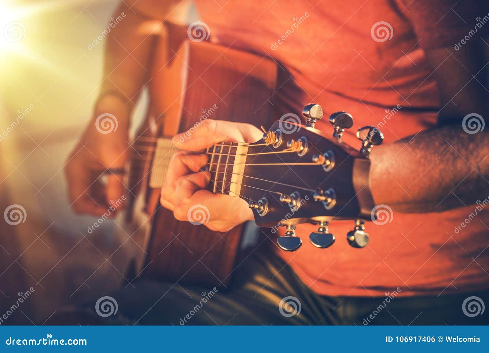 Wyćwiczenie gitara akustyczna