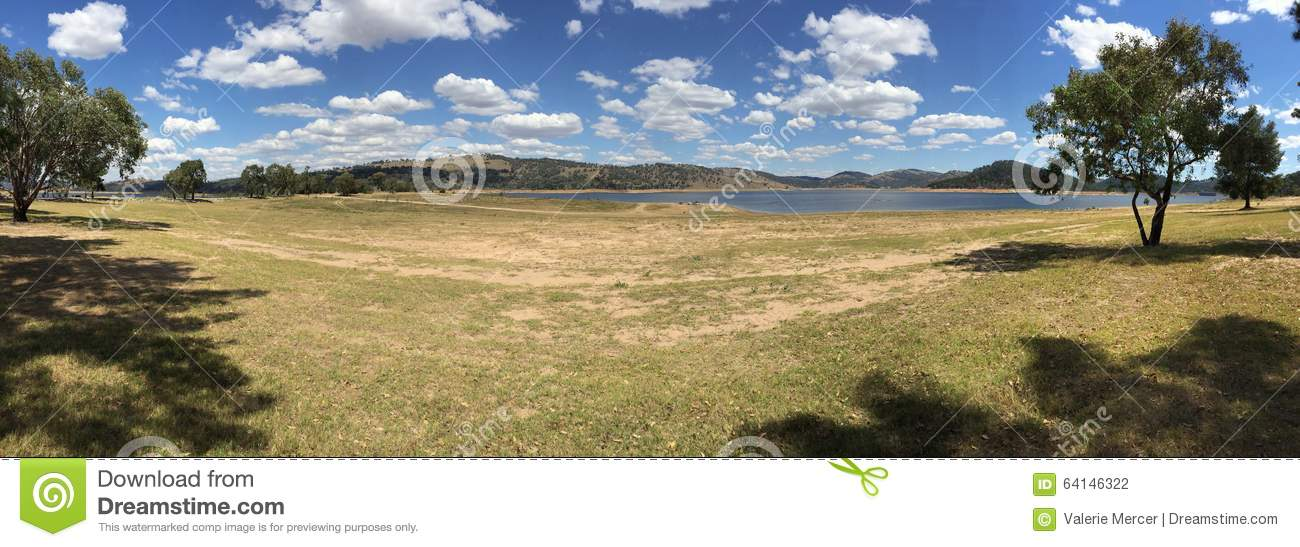 Wyangala state recreation park near Cowra in country New South Wales Australia
