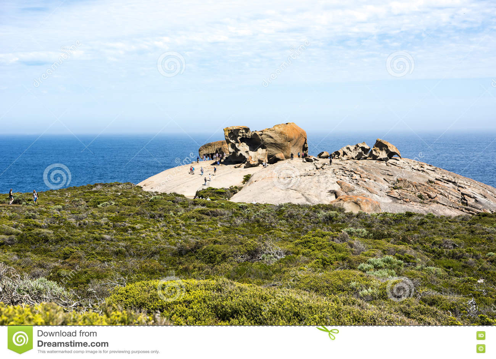 Wybitna skała kangura wyspa, Australia