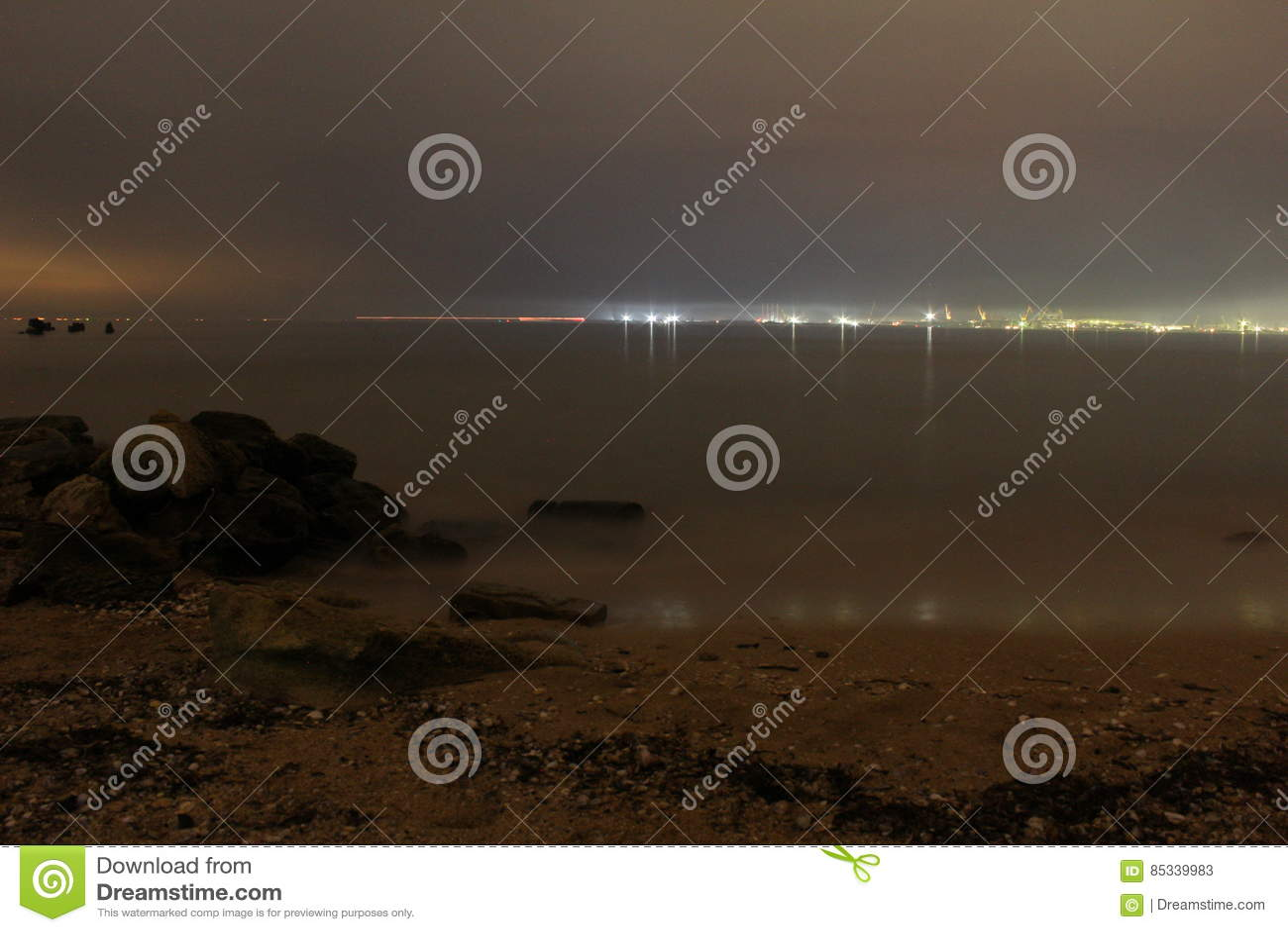Wybrzeże morza