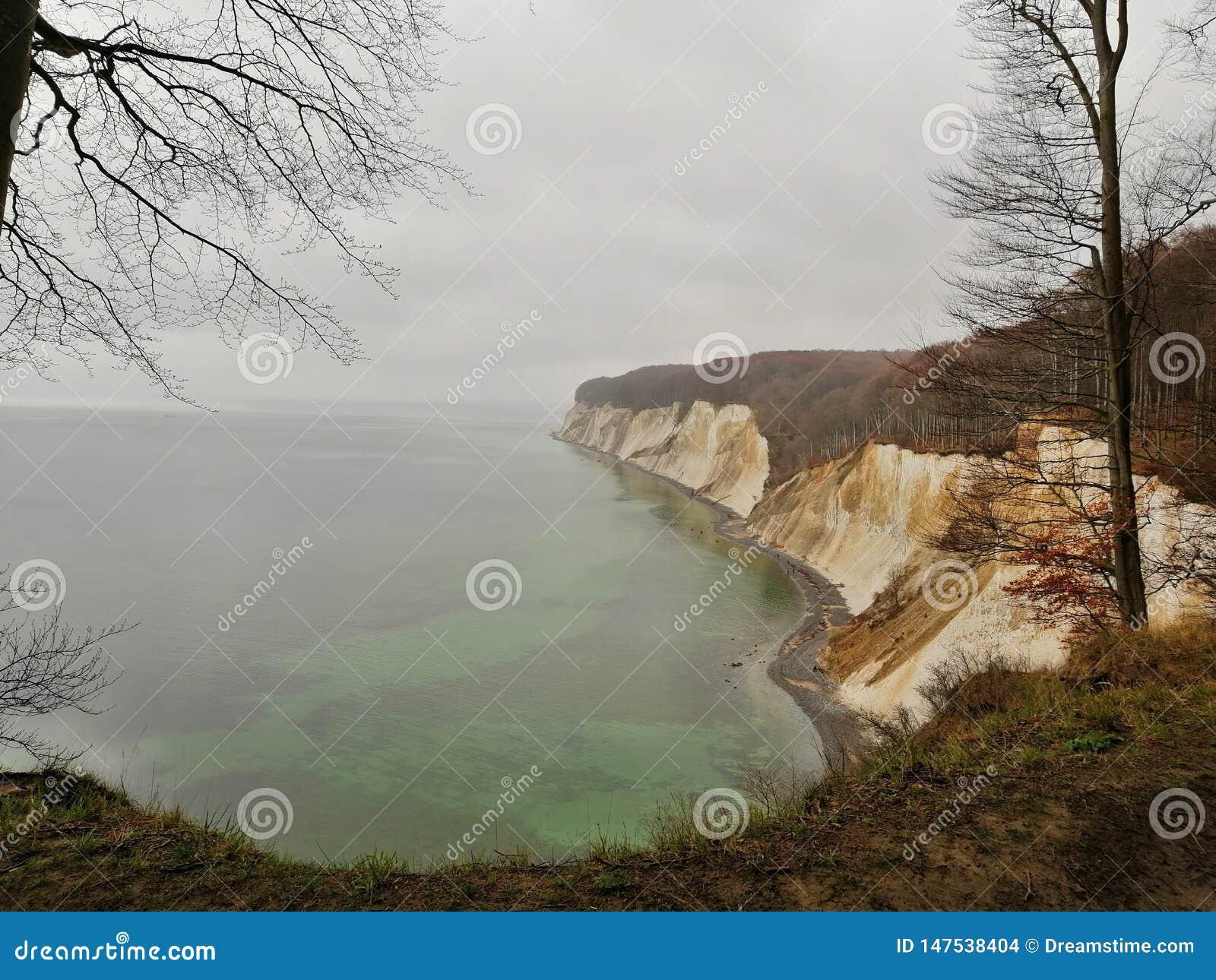 Wybrzeże Niemiecki wyspy RÃ ¼ gen