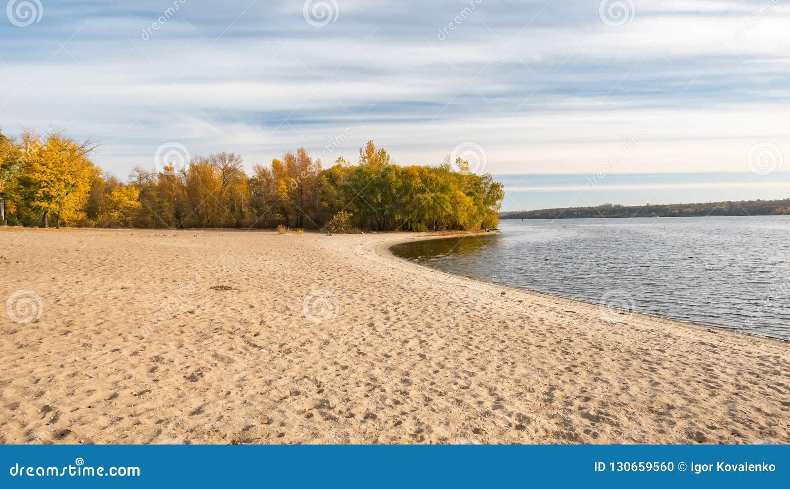Wybrzeże stary Zaporoski - Ukraina