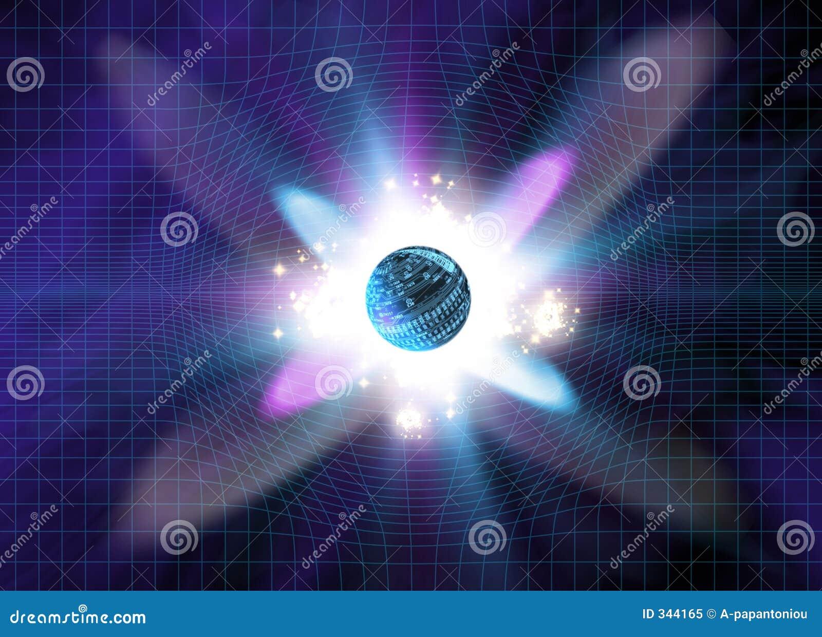 Wybuch cząstek