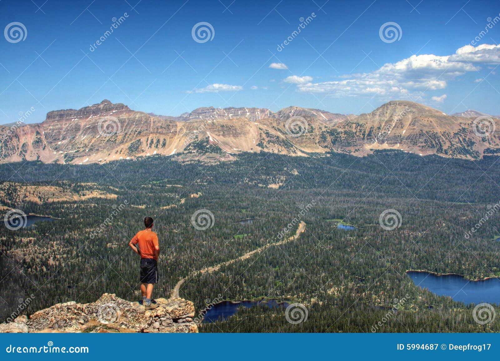 Wycieczkowicz w górach