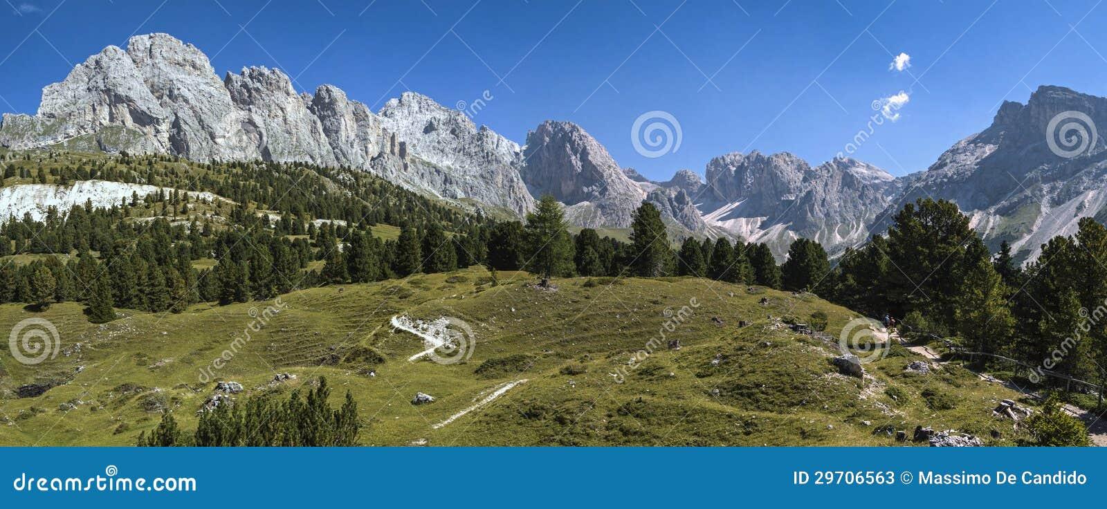 Odle, dolomity - Włochy