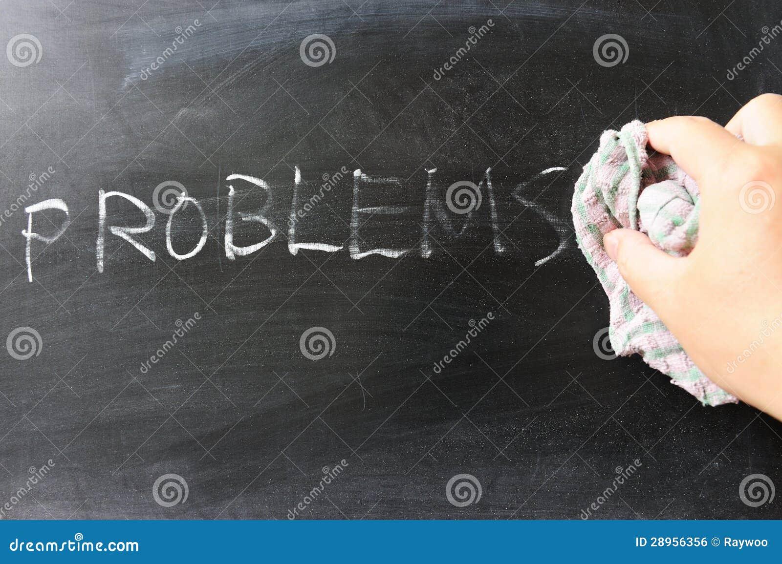 Wycierać z problemów