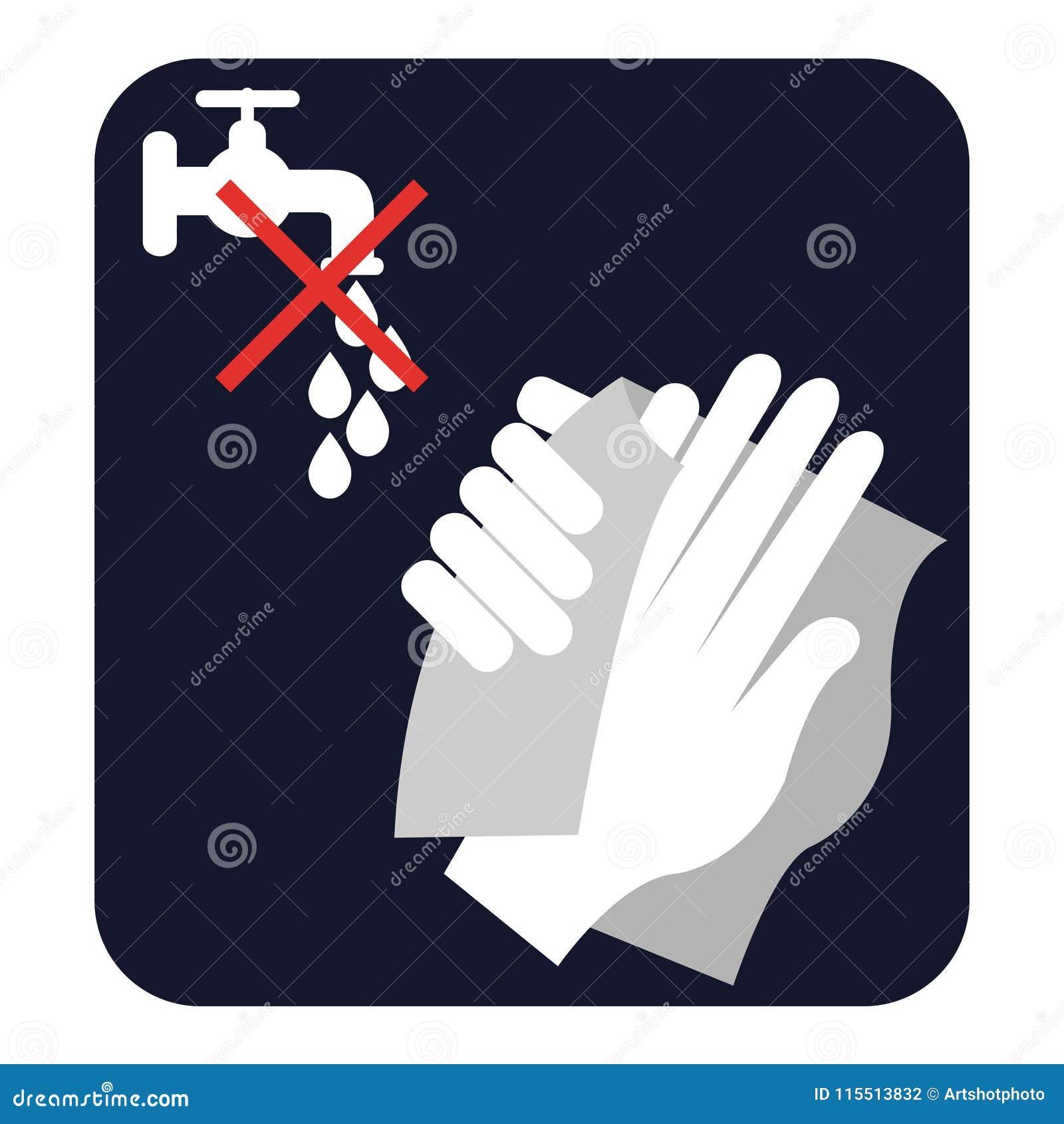 Wyciera twój ręki, no myje one,