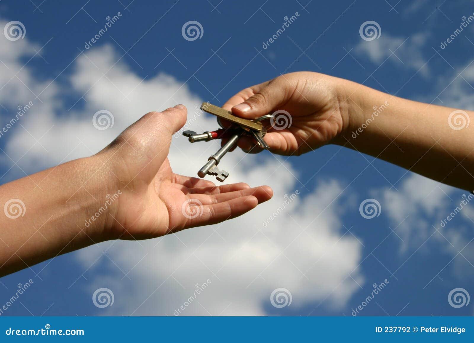 Wydał klucz