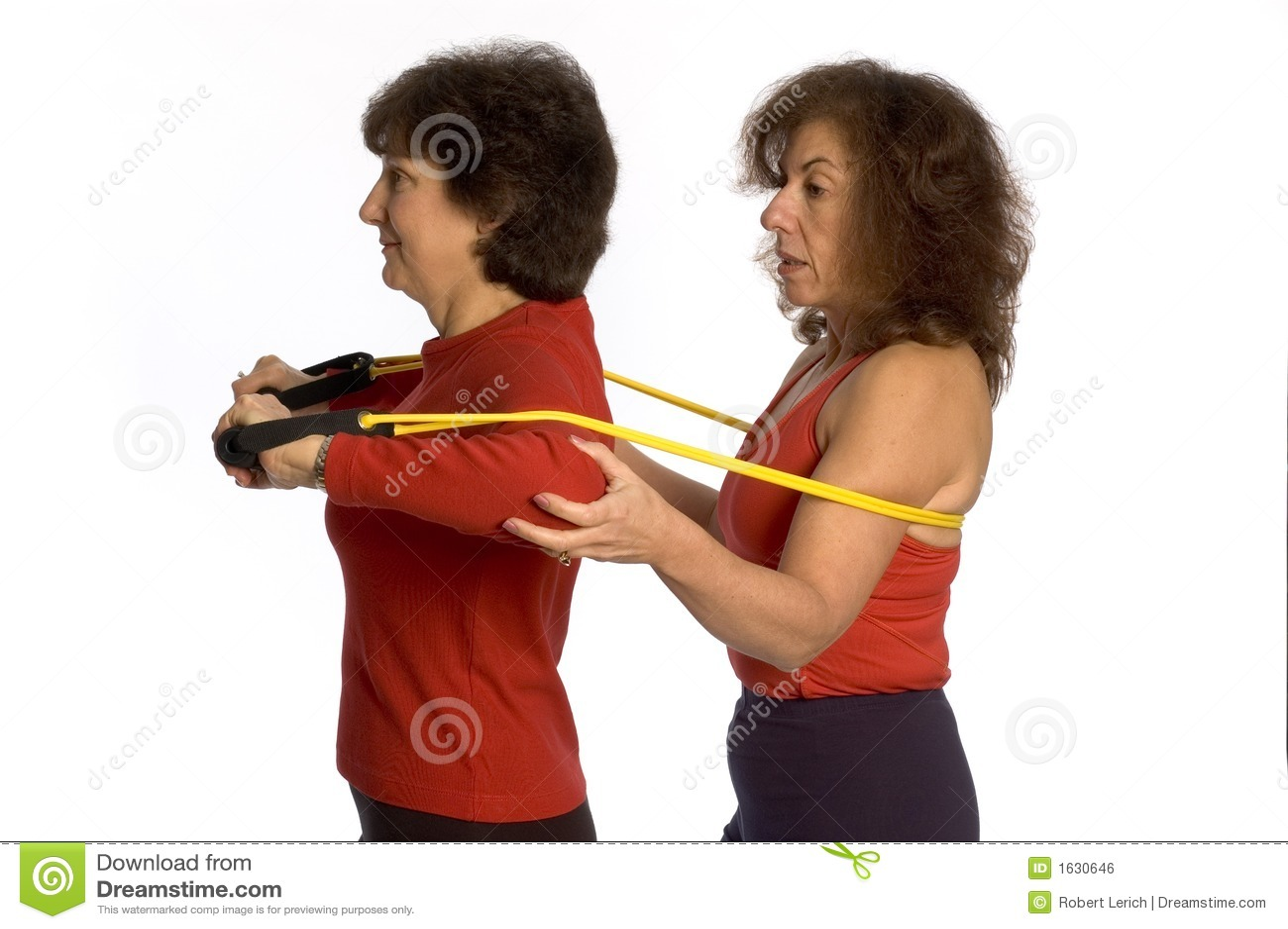 Wykonywanie dwie kobiety.