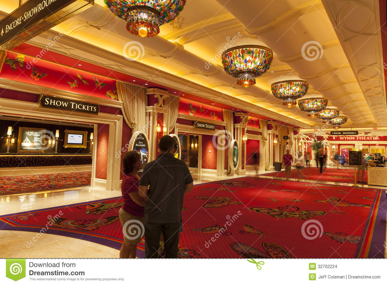 Wynn Hotel Interior In Las Vegas Nv On August 02 2013 Editorial Stock Image Image 32702224