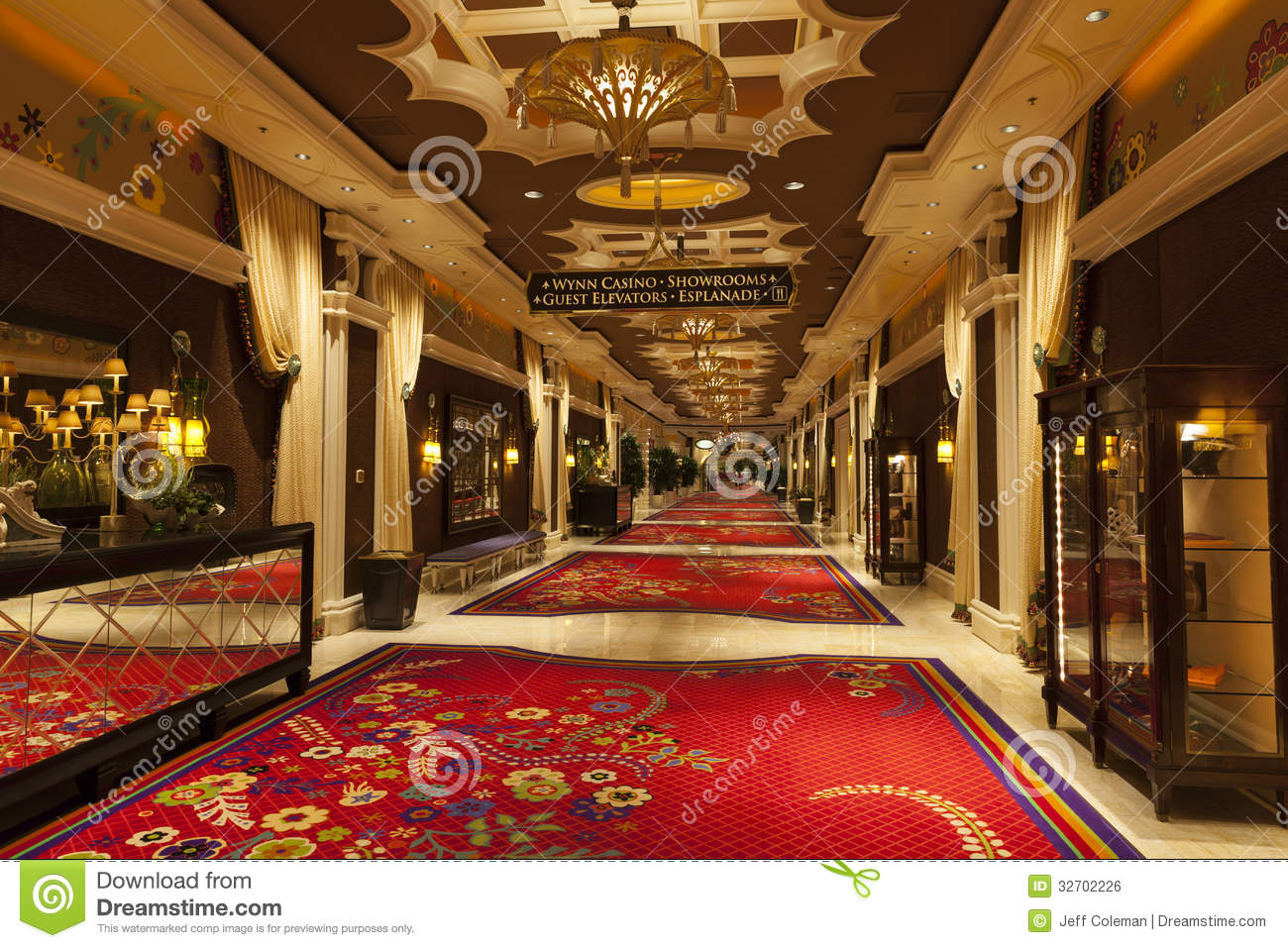 Wynn Hotel Interior In Las Vegas Nv On August 02 2013