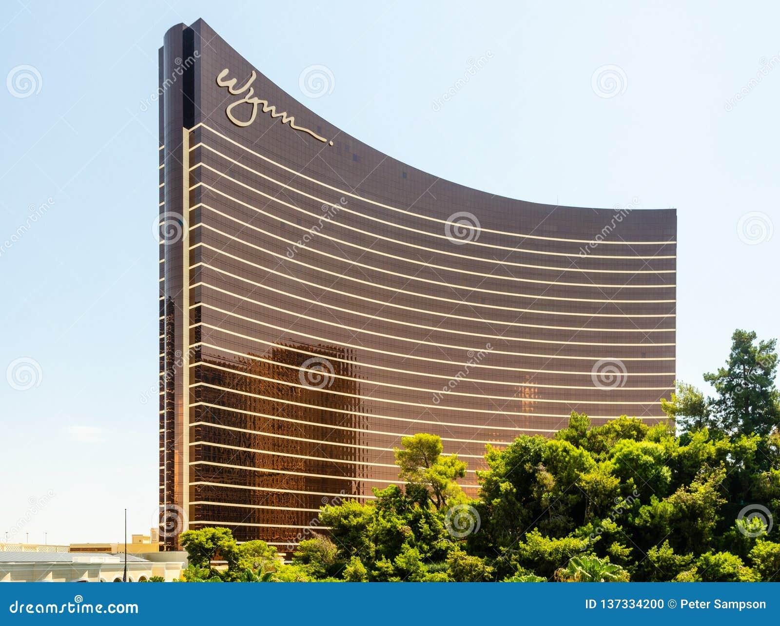 Wynn Las Vegas Building in Las Vegas