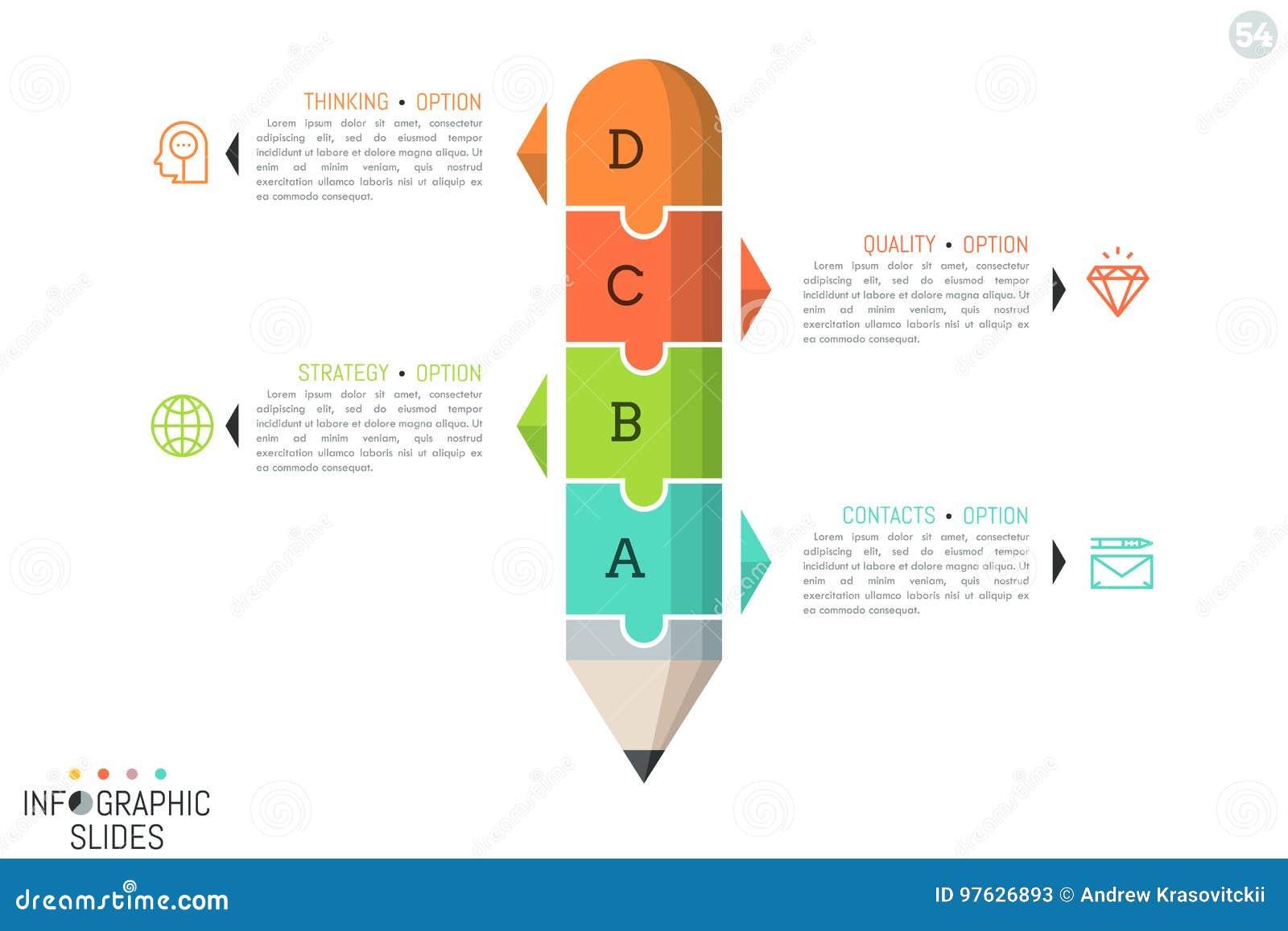 Wyrzynarki łamigłówka w kształcie ołówek dzielił w 4 części