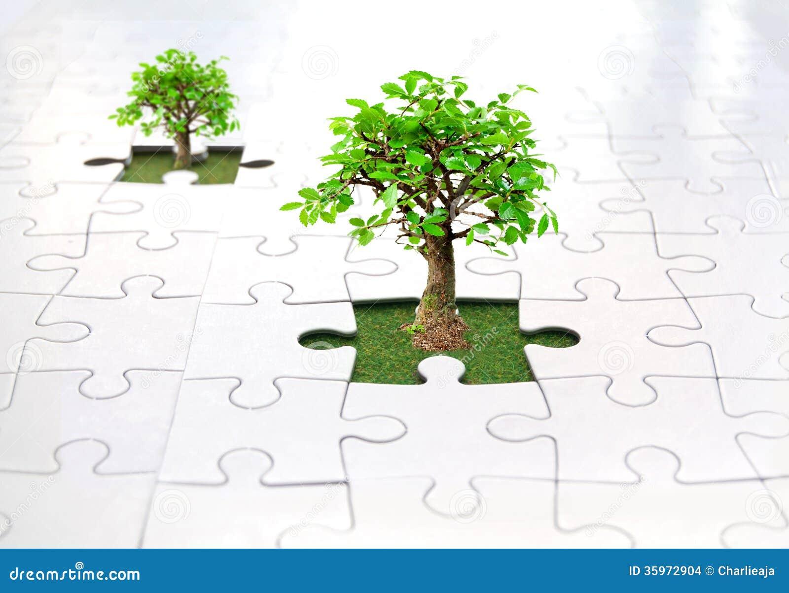 Wyrzynarki łamigłówki drzewo