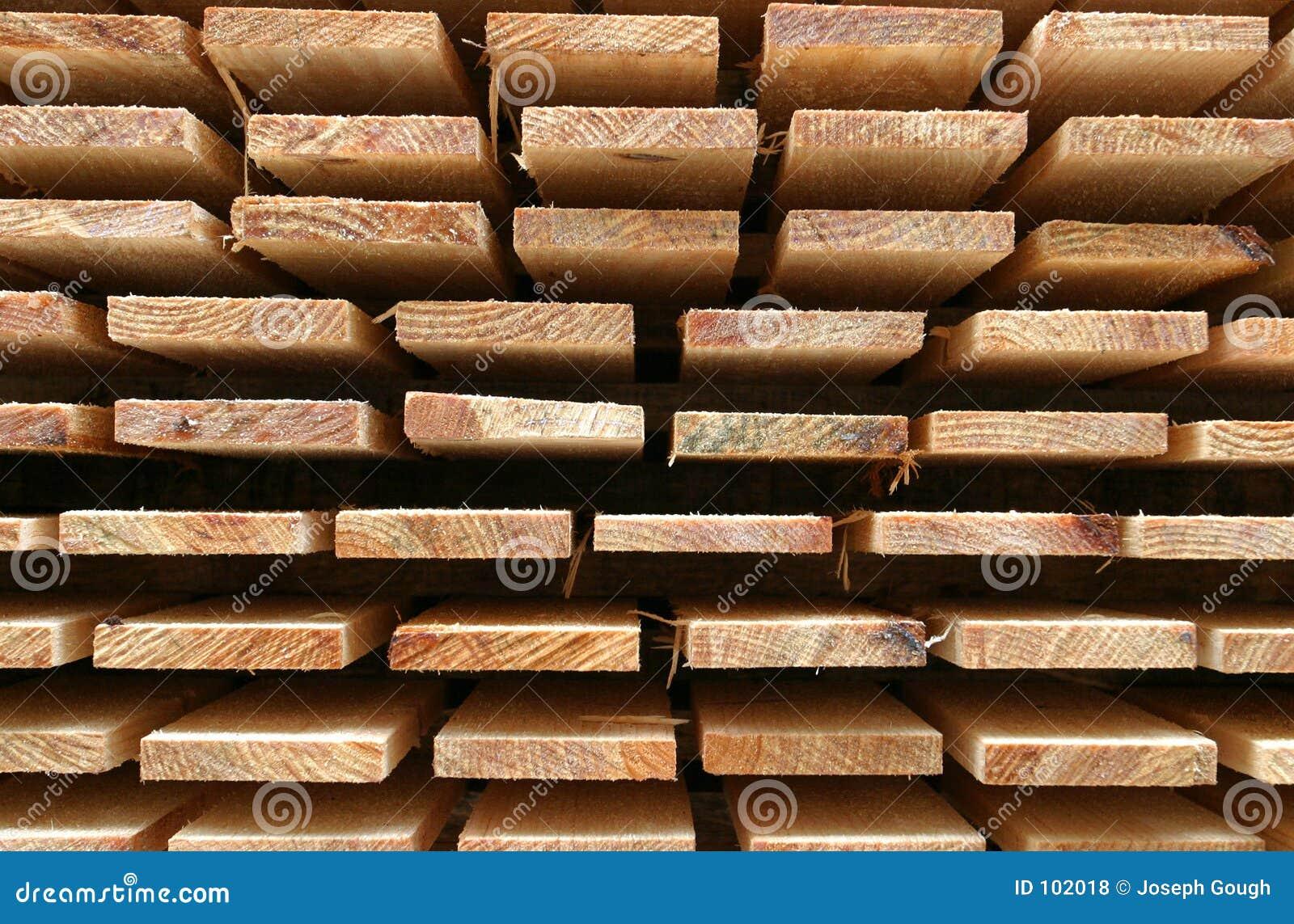 Wysłużony drewna