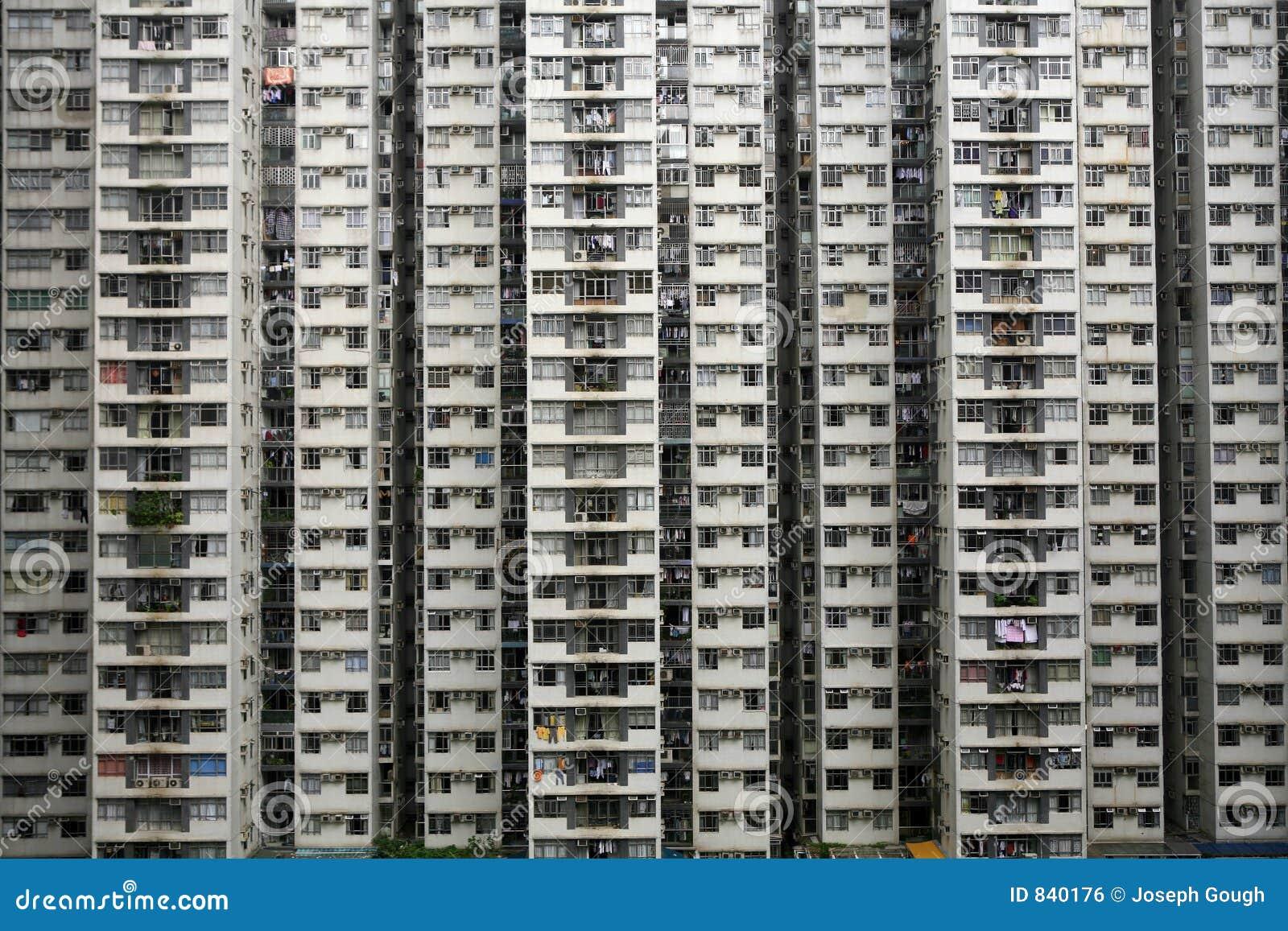 Wysoka gęstość mieszkalnictwa