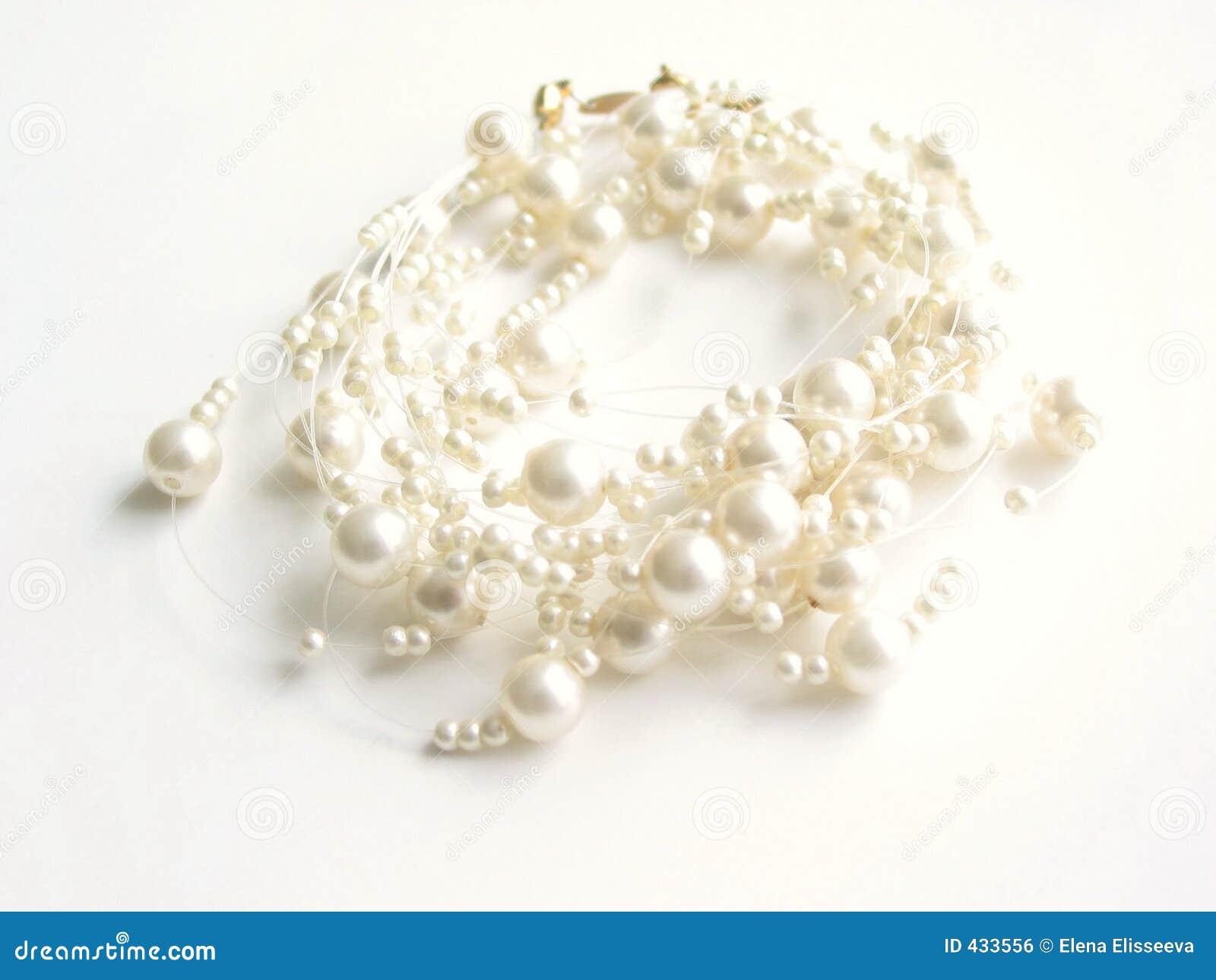 Wysoka kluczowe naszyjnik perła