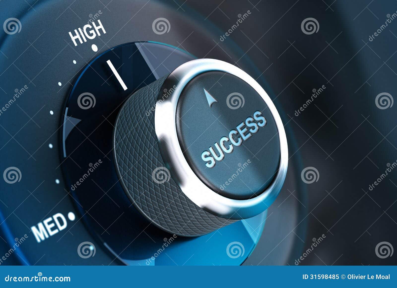Wysoki poziom sukces. Udaje się