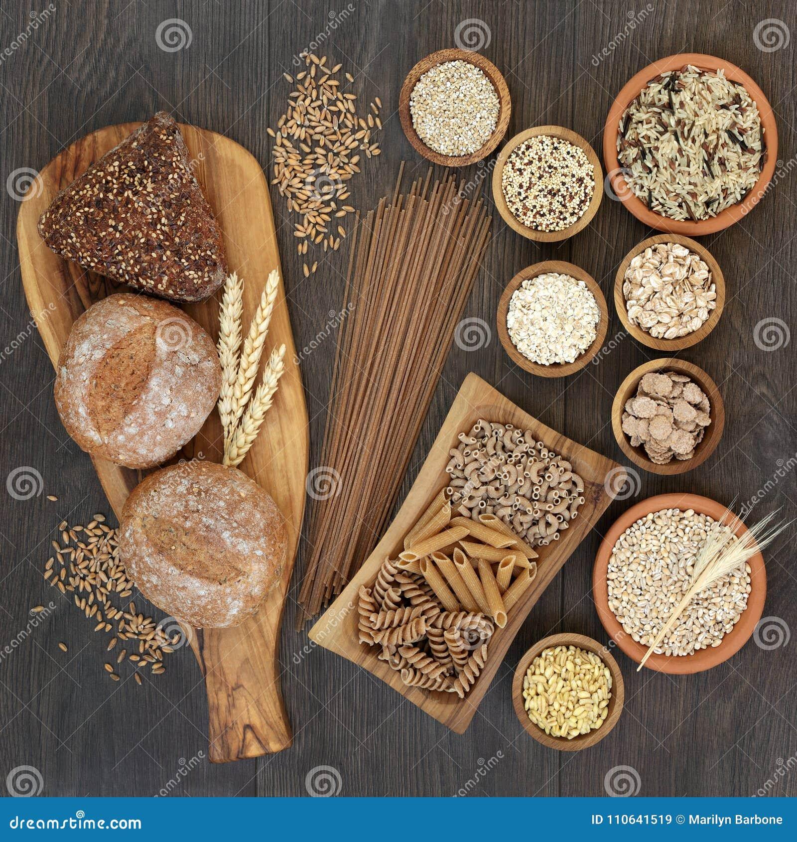 Wysoki włókien zdrowie jedzenie