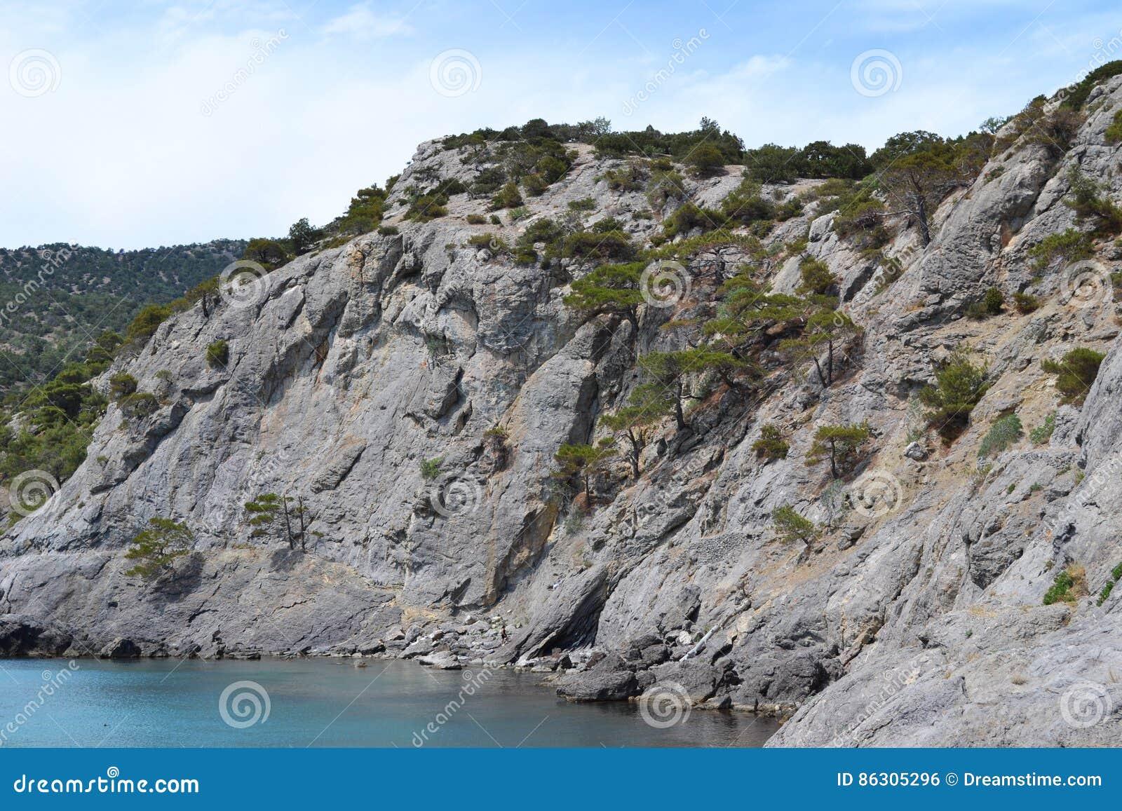 Wysokie skały