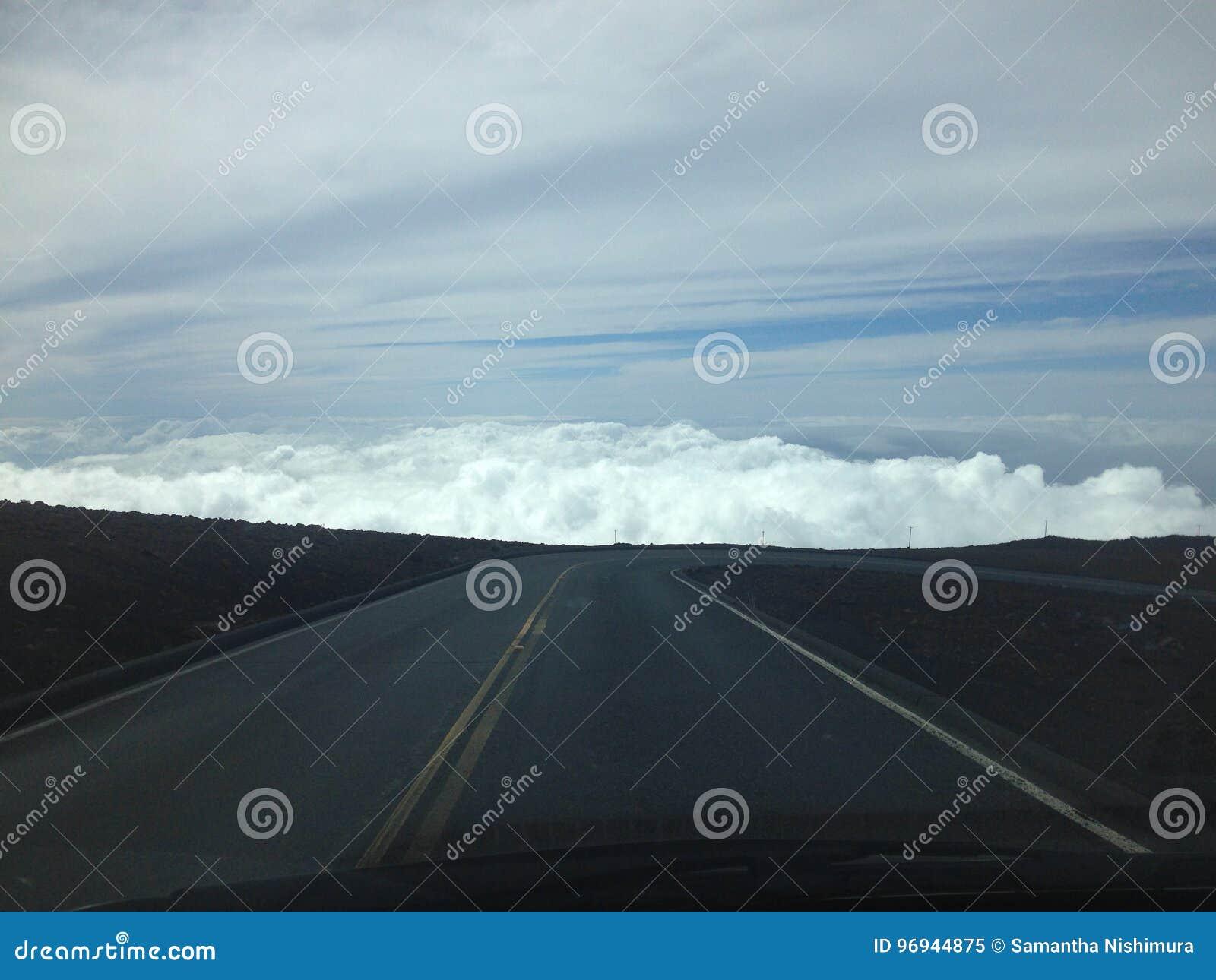 Wysokość nad chmury