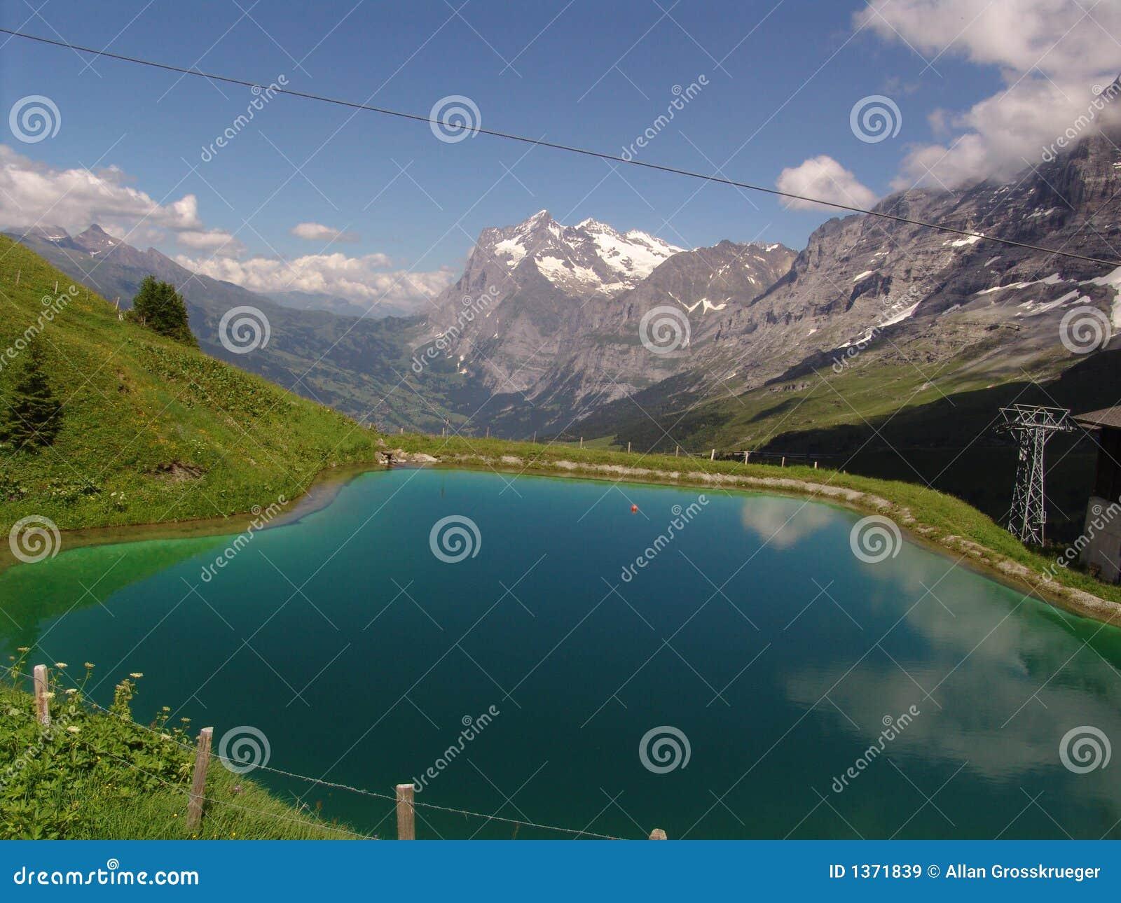 Wysokogórski stawowy wetterhorn